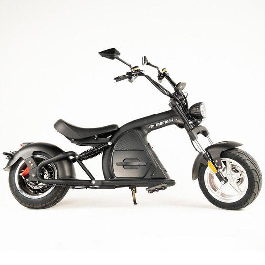 Moto elétrica Mormaii lince r2 - Preto
