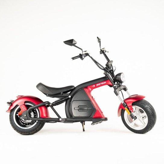 Moto elétrica Mormaii lince r2 - Vermelho