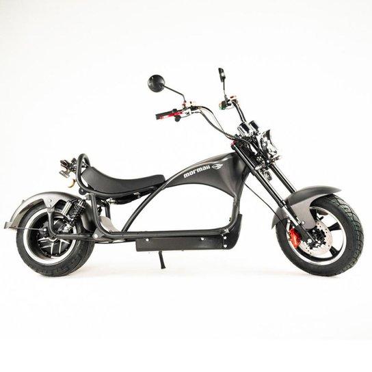 Moto elétrica Mormaii raia r2 - Preto