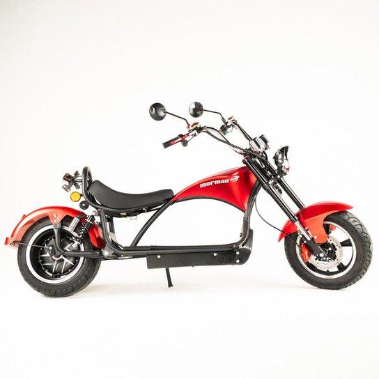 Moto elétrica Mormaii raia r2 - Vermelho