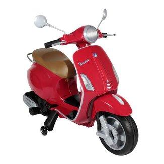 Moto Infantil Vespa Biz Elétrica 12V Bel Brink