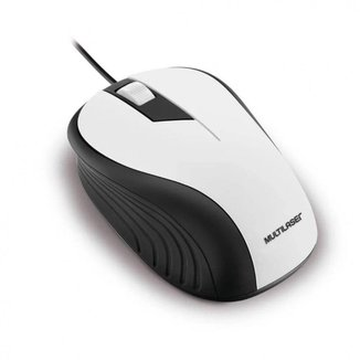 Mouse Emborrachado Usb 1200Dpi Multilaser