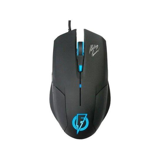 Mouse Gamer ELG Óptico 2400DPI 6 Botões - Stream - Preto