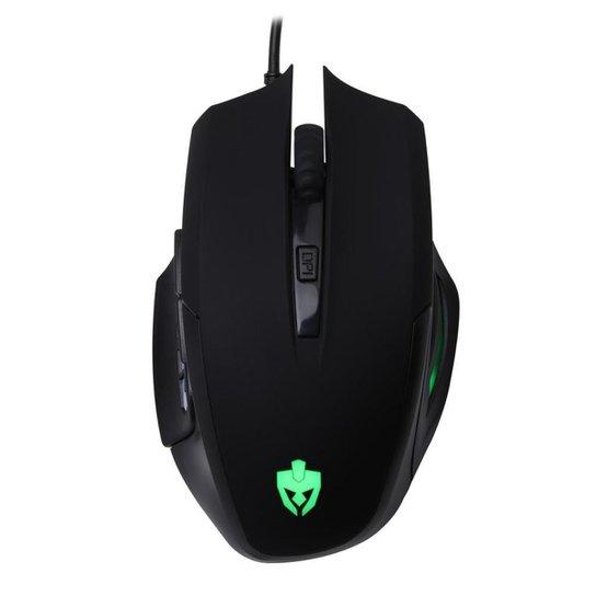 Mouse Gamer Evolut EG105/Lynx Preto - Preto