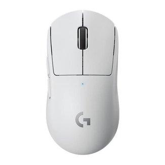 Mouse Gamer Logitech Wireless PRO X Superlight 25600DPI Branco, 910-005941