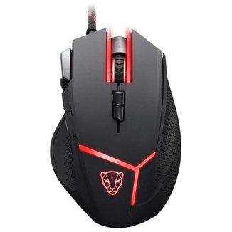 Mouse Gamer Motospeed V18 Preto 4000Dpi RGB