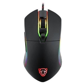 Mouse Gamer Motospeed V30 Preto 7000Dpi RGB