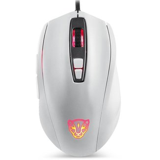Mouse Gamer Motospeed V60 Branco 10000Dpi RGB