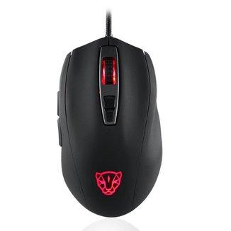 Mouse Gamer Motospeed V60 Preto 10000Dpi RGB