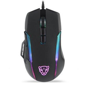 Mouse Gamer Motospeed V90 Preto 12000Dpi RGB