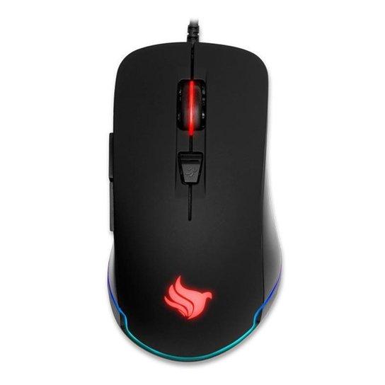 Mouse Gamer Pichau P501 RGB 10000DPI Preto, PGM-P501-RGB - Preto
