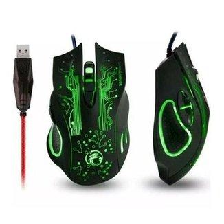 Mouse Gamer Profissional X9 2400dpi Led