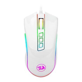 Mouse Gamer Redragon Cobra Lunar White RGB 10000DPI M711W