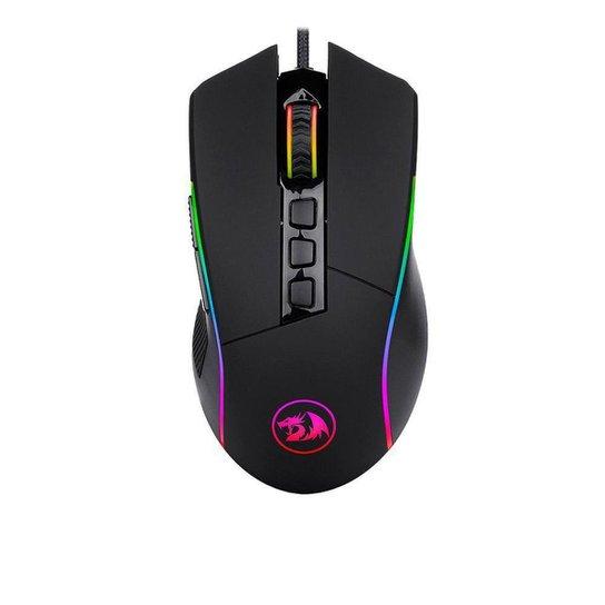 Mouse Gamer Redragon Lonewolf 2 Pro RGB Preto - Preto