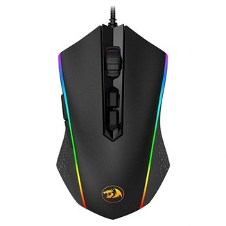 Mouse Gamer Redragon Memeanlion Chroma RGB Preto