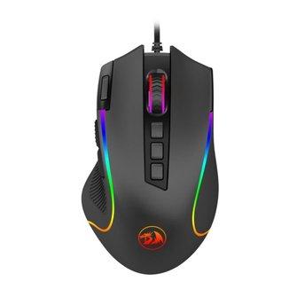 Mouse Gamer Redragon Predator RGB Preto