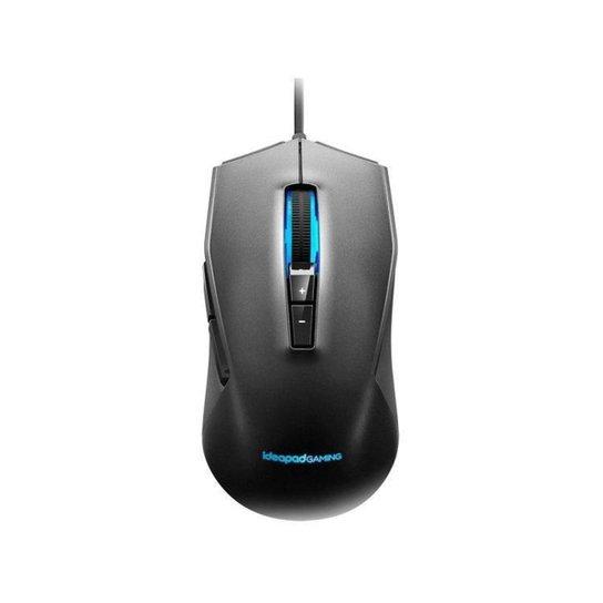 Mouse Gamer RGB Lenovo Óptico 3200DPI - Preto