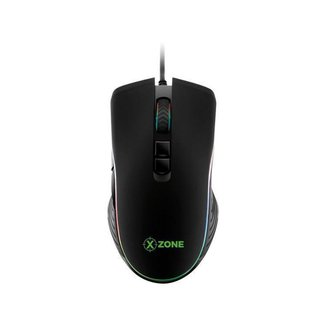 Mouse Gamer RGB XZONE Óptico 4800DPI - 7 Botões GMF-01