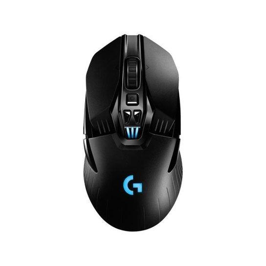 Mouse Gamer sem Fio Logitech Óptico 16000dpi - Preto