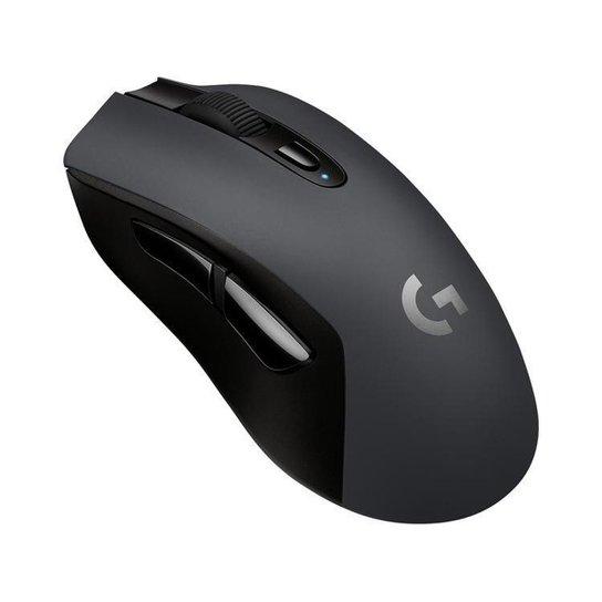Mouse Gamer Sem Fio Sensor Óptico 12000dpi - Preto