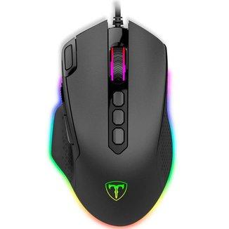 Mouse Gamer T-Dagger Bettle RGB Preto