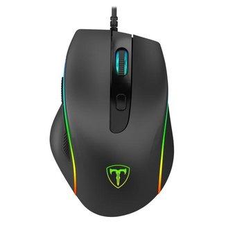 Mouse Gamer T-Dagger Recrut 2 RGB Preto