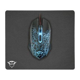 Mouse Gamer Trust Óptico 2400DPI 6 Botões