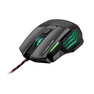 Mouse Gamer Warrior Rayner 3200DPI 7 Botoes QuickFire  MO207 MO207