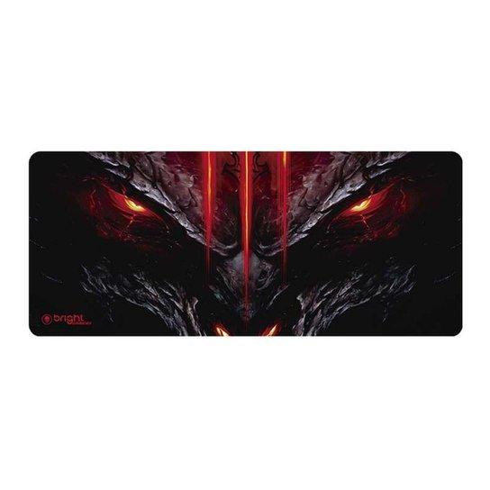 Mouse Pad Gamer Big Dragão 554 Bright - Estampado