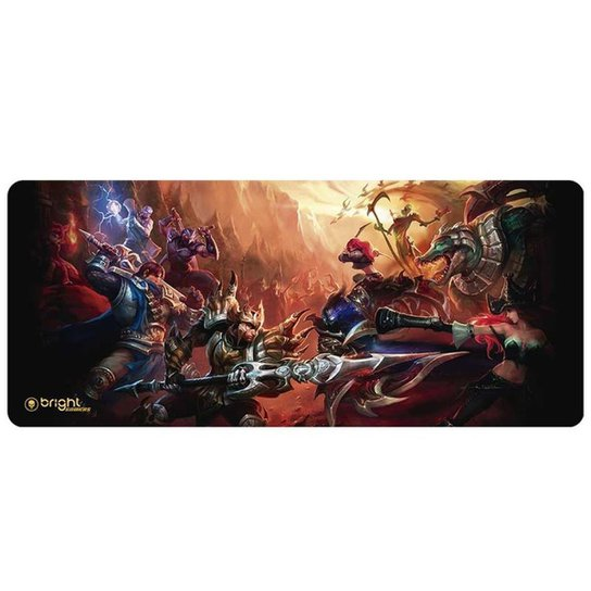 Mouse Pad Gamer Big Fantasy 552 Bright - Estampado