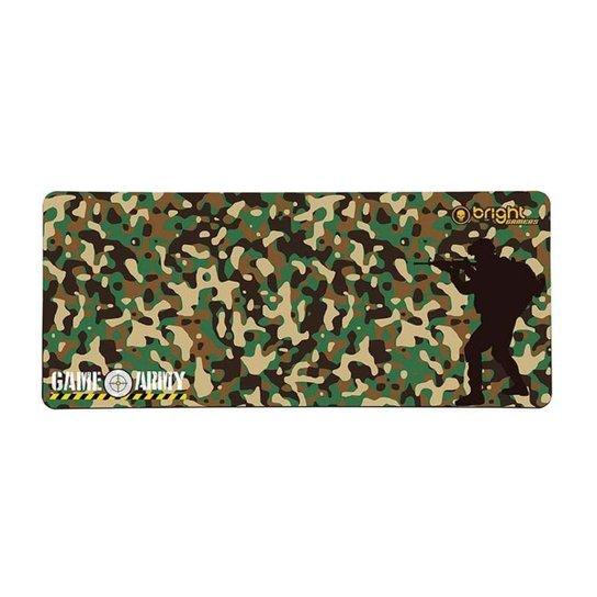 Mouse Pad Gamer Grande 69 x 28cm Big Army Bright 458 - Camuflado