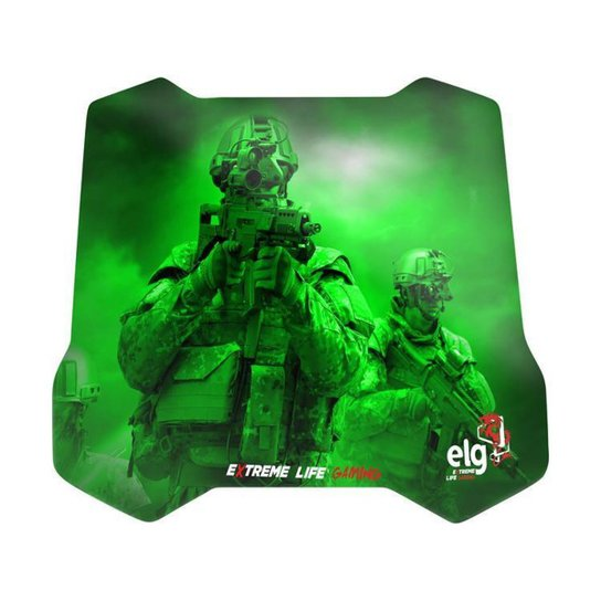 Mouse Pad Gamer Grande ELG - Sense Control - Verde