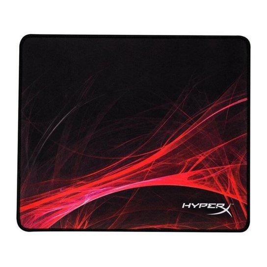 Mouse Pad Gamer Quadrado HyperX - Preto+Vermelho