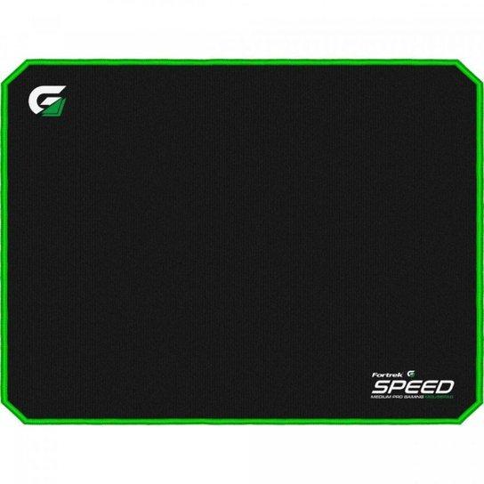 Mouse Pad Gamer Speed MPG101 VD - Fortrek - Preto+verde