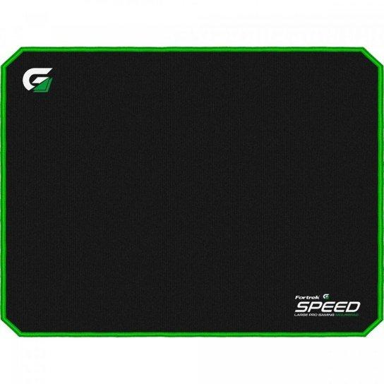 Mouse Pad Gamer Speed MPG102 VD - Fortrek - Preto+verde