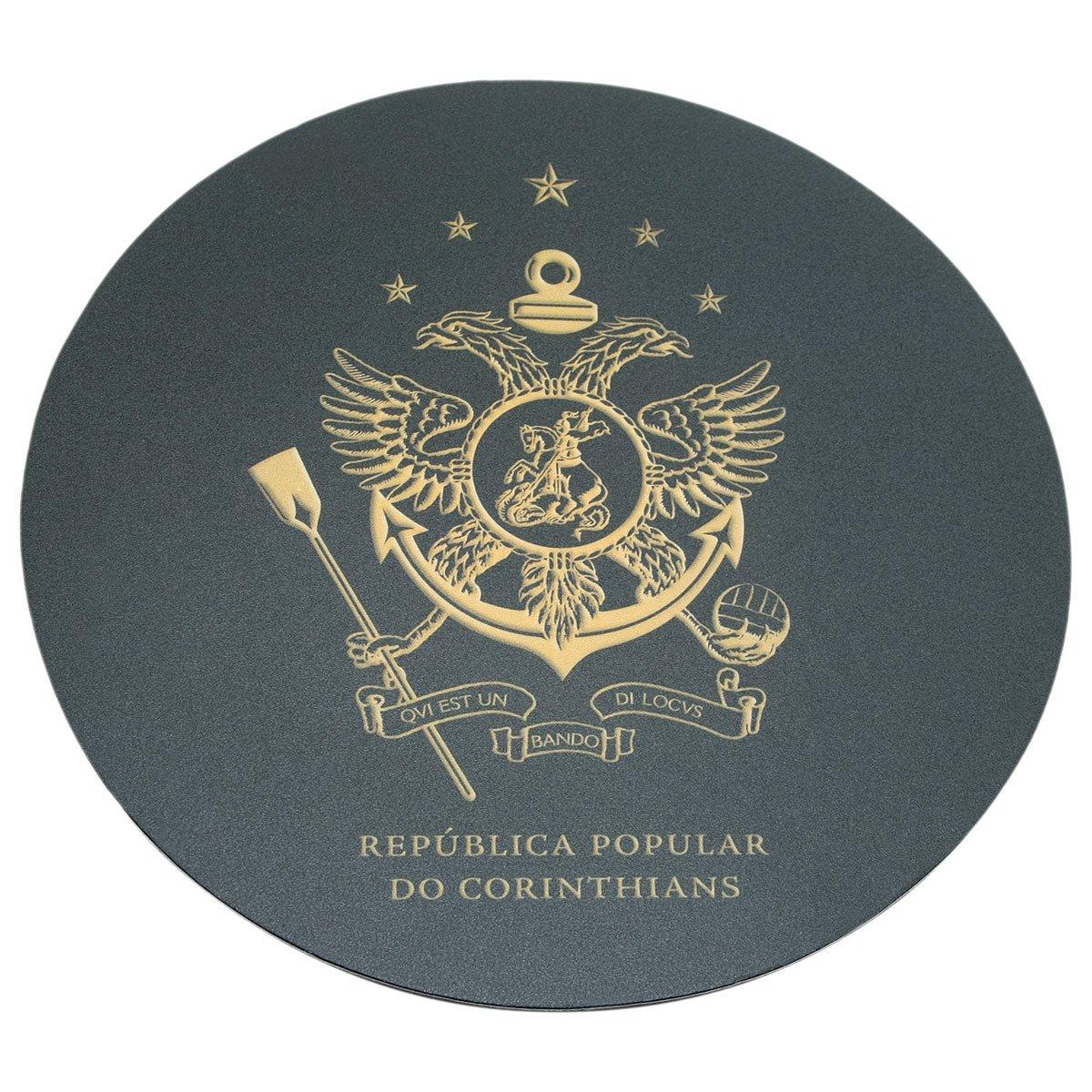 04ae0bf75124d Mouse Pad Redondo República Popular do Corinthians - Compre Agora   Netshoes