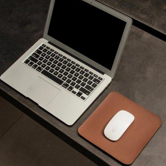 Mouse Pad Slim Em Material Sintético 20x20 Cm Bullpad - Caramelo
