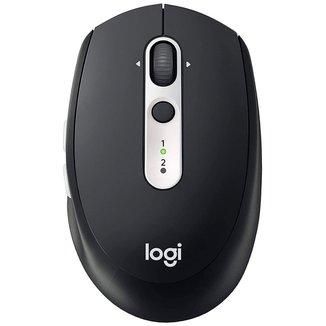 Mouse sem Fio Logitech M585 - Conexão Bluetooth ou USB Unifying - Logitech Flow - 910-005012