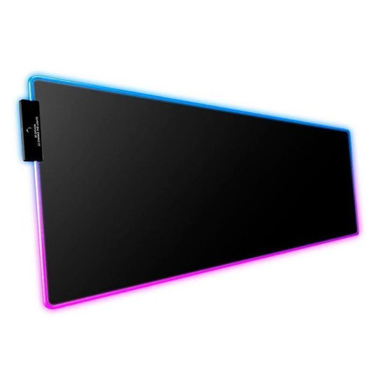 Mousepad Aigo DarkFlash Flex 800 RGB 800x300x4mm - Preto