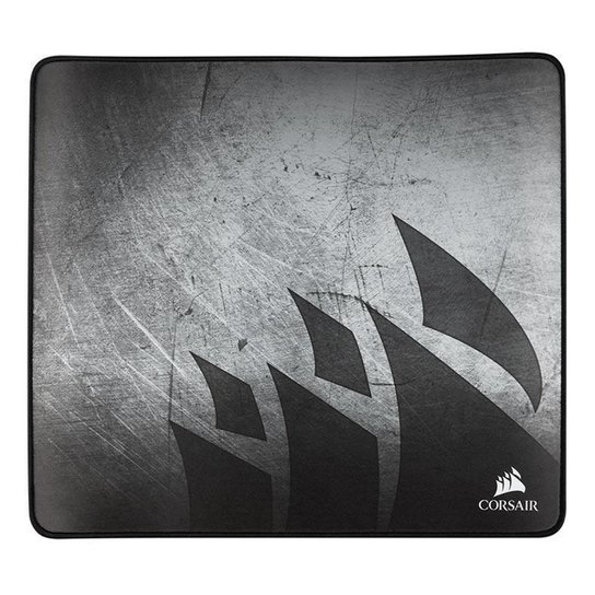 Mousepad Gamer Corsair MM350 X-Large 450x400x5mm, CH-9413561-WW - Prata+Preto
