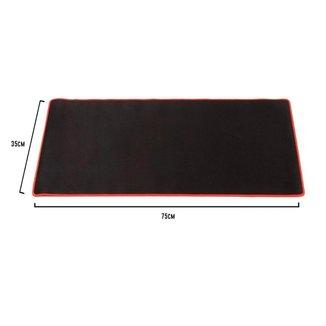 MousePad Gamer Extra Grande 75x35cm - Borda Costurada - Bsn