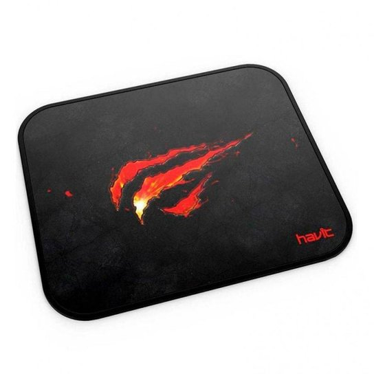 Mousepad Gamer Havit, Black-Red, HV-MP837 - Preto
