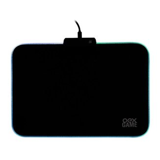 Mousepad Gamer Led Glow Mp310 Speed 350mm X 250mm Pequeno Preto