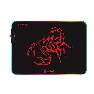 Mousepad Gamer Marvo Scorpion MG08 RGB M 350x250x4mm