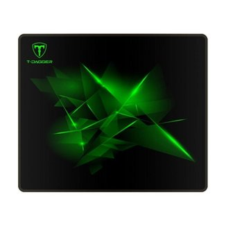 Mousepad Gamer T-Dagger Geometry S Speed 290x240x3mm Preto