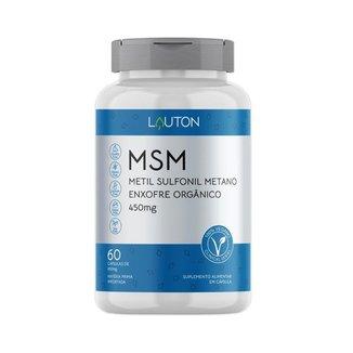 Msm Lauton Nutrition Enxofre Orgânico 900mg 60 Cápsulas