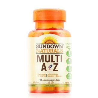 Multi A-Z Multivitamínico - Sundown Vitaminas