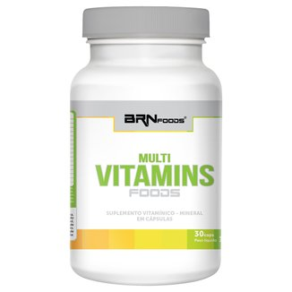 Multi Vitaminas Foods 30 Cáps - BRN Foods
