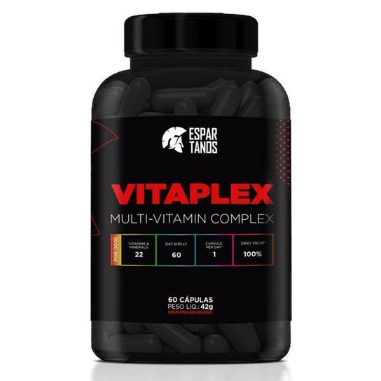 Multi-Vitamínico Vitaplex Multi-Vitamin Complex Espartanos -