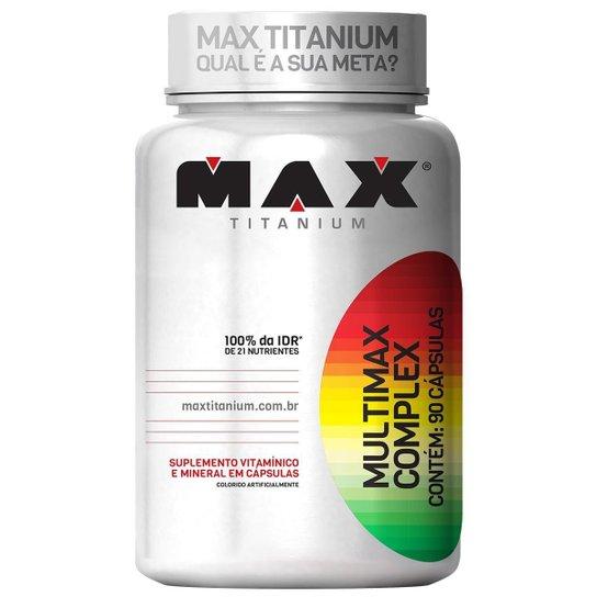 Multimax Complex 90 Cáps - Max Titanium -